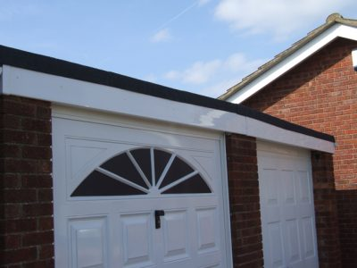 Garage Re-Roof with New Fascia