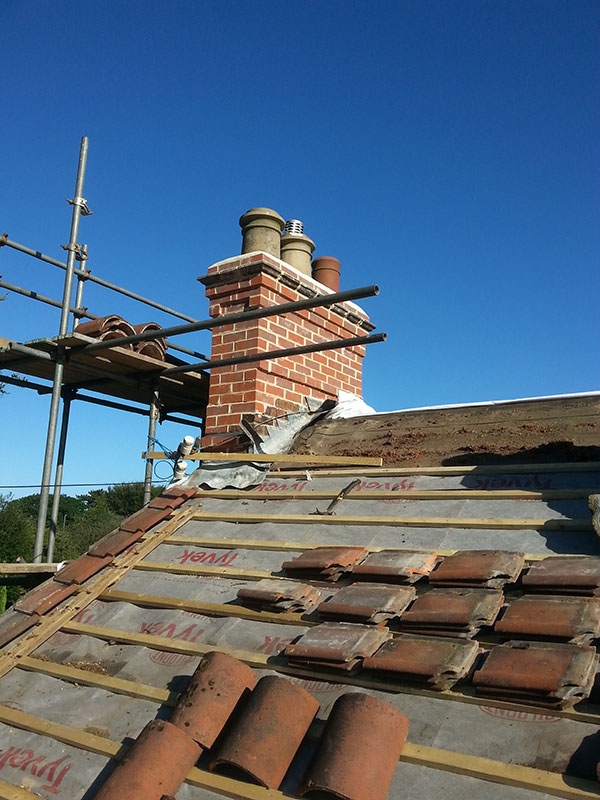 tiled roofs